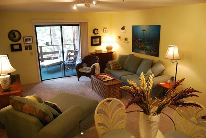 Lovely condo close to beach, shops - Fernandina Beach - Appartement