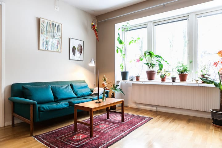 Lovely flat in quiet area of central Gothenburg