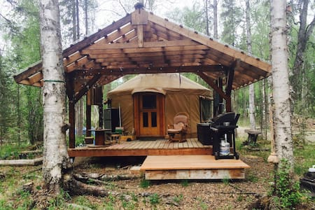 Yurt cottage - Talkeetna - Jurtta