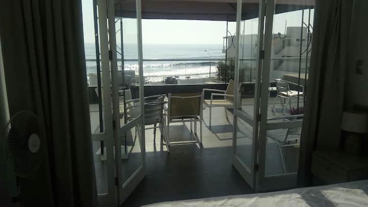 El mirador de playa norte