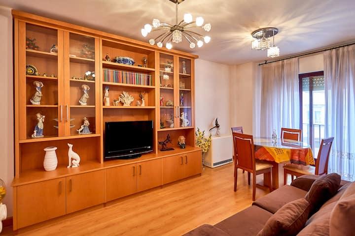 Acogedor y confortable apartamento para 3