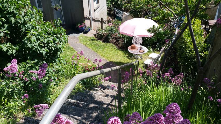Sunny Spacious Garden Apartment