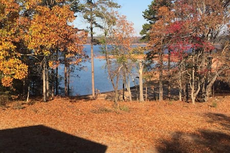 4bd/4ba Lake House minutes from Downtown Hartwell - Hartwell - Talo