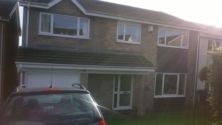 Large detached house on the outskirts of Cardiff