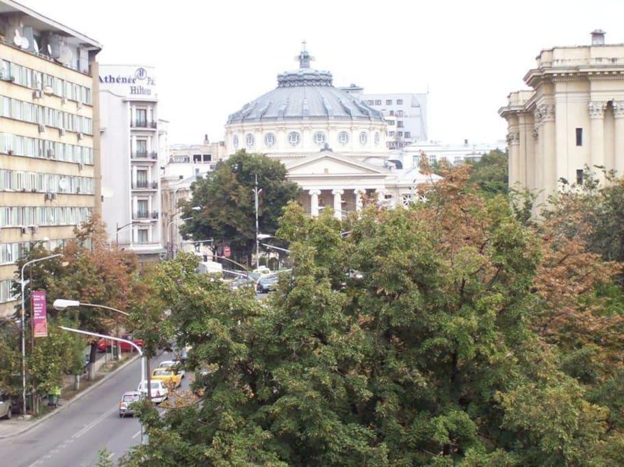 Sala Palatului (Atheneum) view