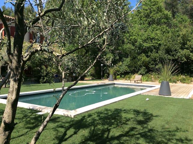 Bastide proche Aix- en-Provence - Mimet - บ้าน
