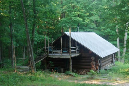 Log Cabin on 60 Acres 1 hr from NYC - Blockhütte