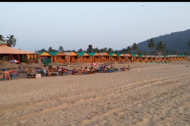 Amazing Sea View Cottage On Agonda Beach