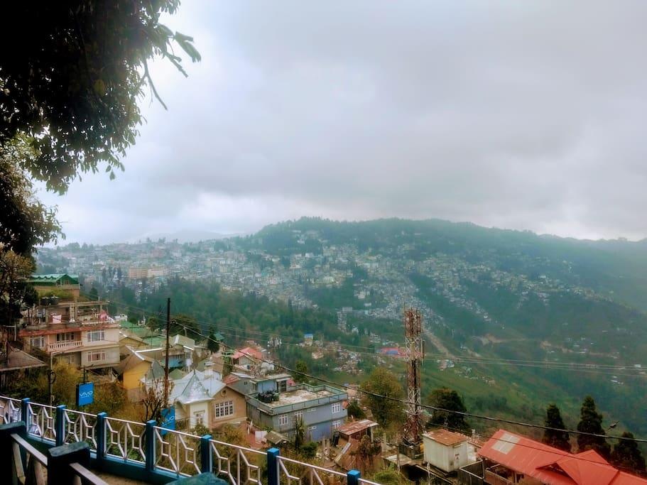 views of Darjeeling
