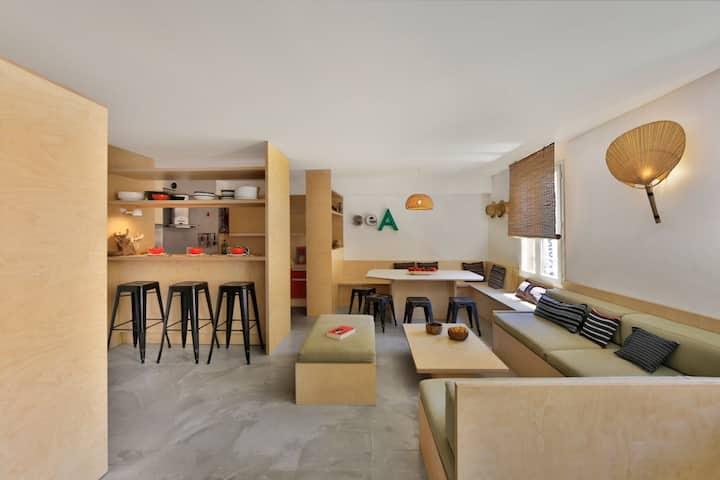 Appartement d'architecte 3 chambres Porquerolles