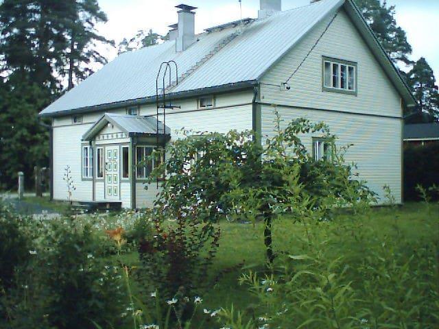 Familyfriendly artisthouse Arttula - Lapinlahti - Huis