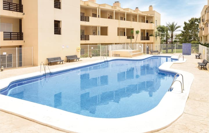 Holiday apartment with 2 bedrooms on 95m² in Retamar