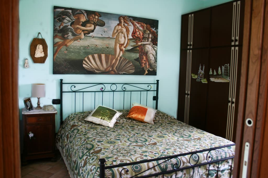 Camera da letto matrimoniale - Bedroom with double bed