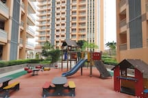Let your kids enjoy this playground as one of the amenities