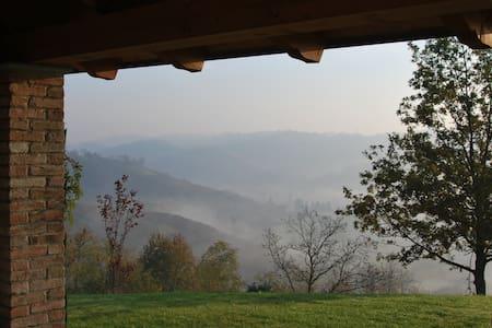 Villa in posizione mozzafiato - Mombercelli - 別荘