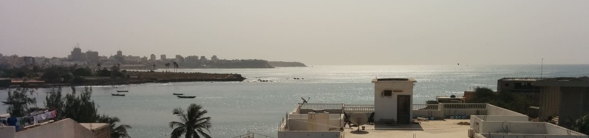Charming ocean-view apartment - Dakar - Apartment