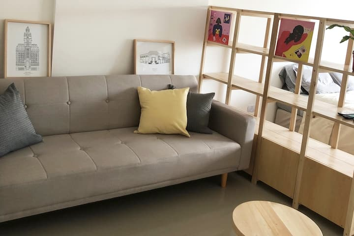Studio for 3 people in Palermo Hollywood