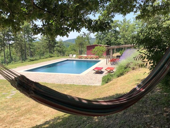 Villa La Dogana: elegant, wild life. 14 guests