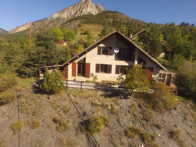 Family Chalet Val D'Allos 8 Pers