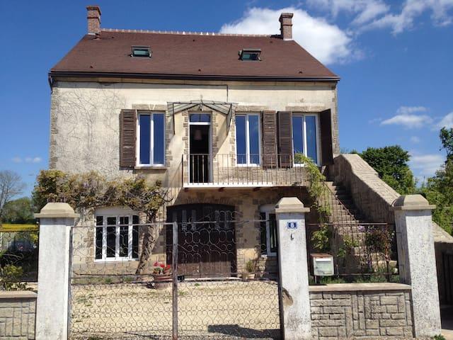 Maison Bourguignonne et son Jardin
