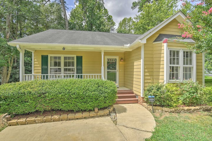NEW! Quiet Raleigh Area Home, 10 Miles to NC State