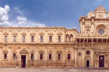 Dans le centre historique de Lecce