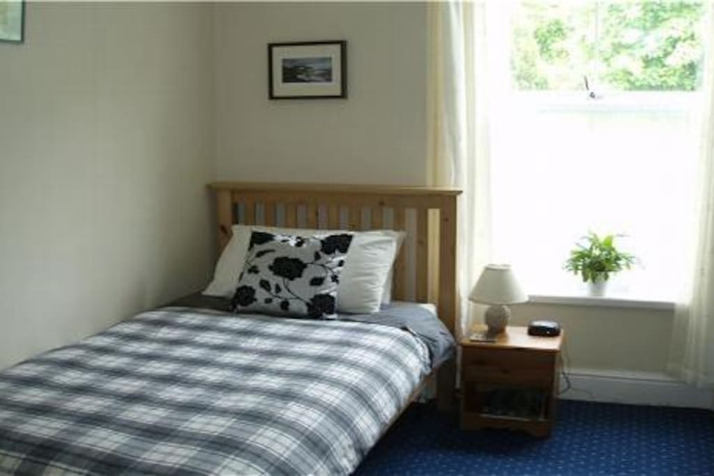 Your single room overlooks the back garden - all 3/4 acres of it!!!!