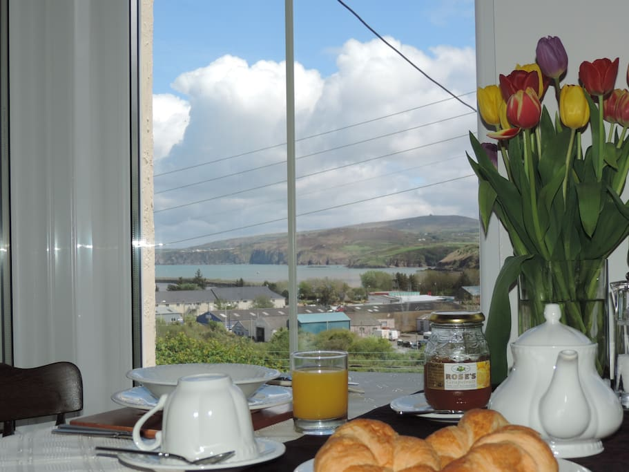Enjoy the views from our breakfast room