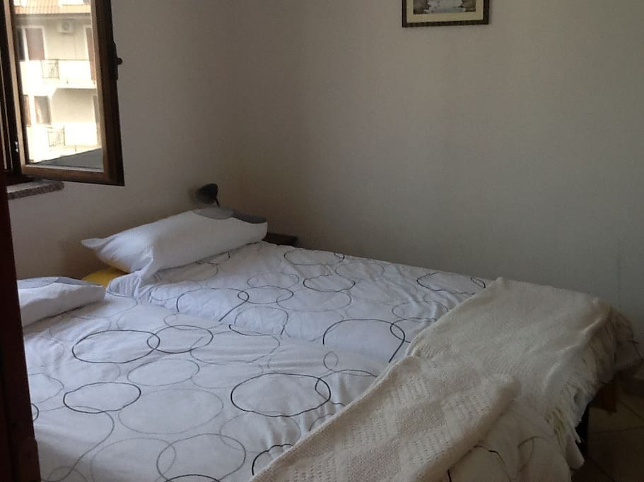 Twin beds can be made into large double.