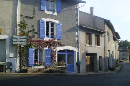 Bed and Breakfast in Village House - Les Salles-Lavauguyon - House