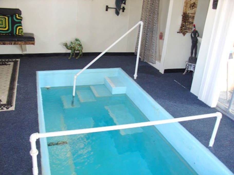 Soak in natural hot mineral springs direct from our well