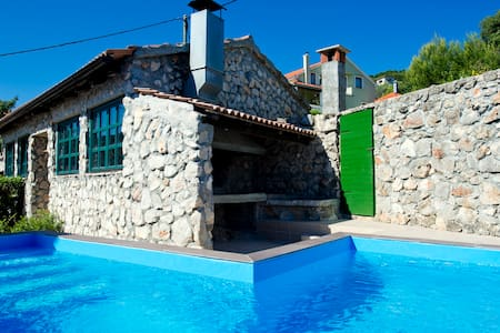 Villa with private pool and jacuzzi - Mali Iž