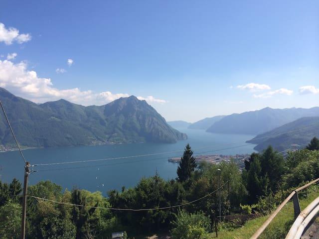 Lago di Iseo: Romantico bilocale