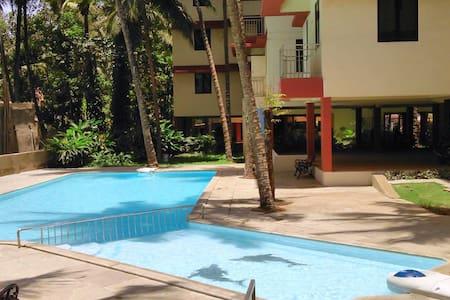 2-bed apartment + pool :near Mapusa - Mapusa, Bardez