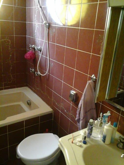 Casa com 4 banheiros, sendo 1 no quarto de hóspedes