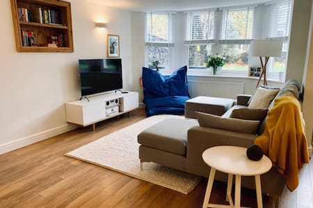 Stylish 1 bed garden flat nr Whiteladies / Clifton