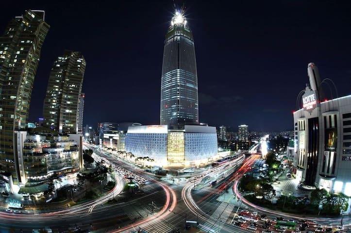 New OPEN Cheonho studio  2)  한강 스튜디오 천호역 도보 3분 - Gangdong-gu - Apartment