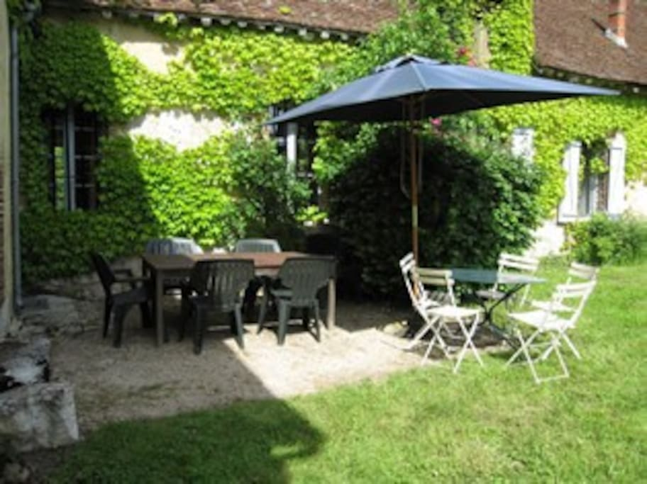 Terrasse + salon de jardin - Patio + garden furniture