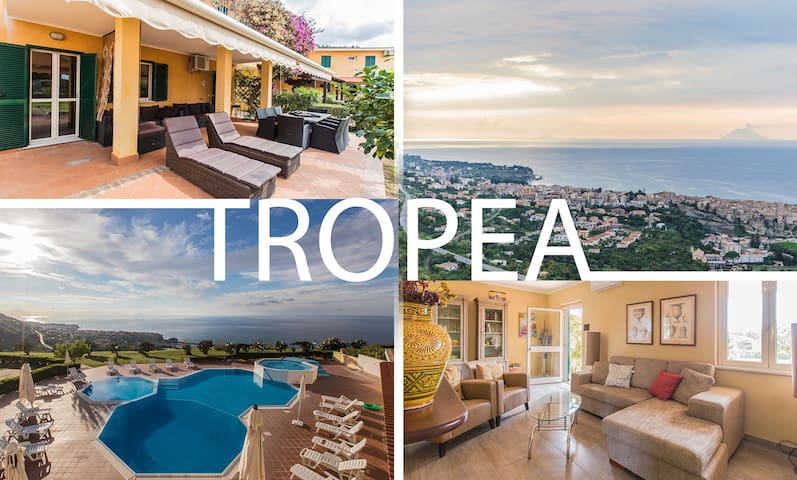 PERLAVISTA Tropea.. our place most beautiful view! - Parghelia - Apartemen