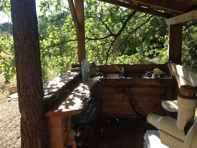 Chambre privée dans un écohameau - Aix-en-Provence - Chatka