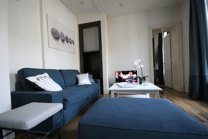 L'Ecrin Bleu Hypercentre Appartement de charme