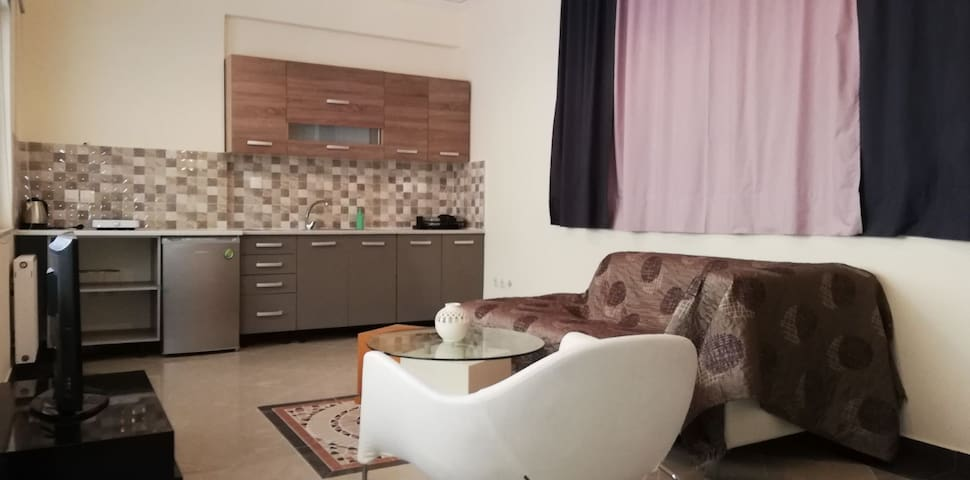 One bedroom  cozy apartment near metro and center