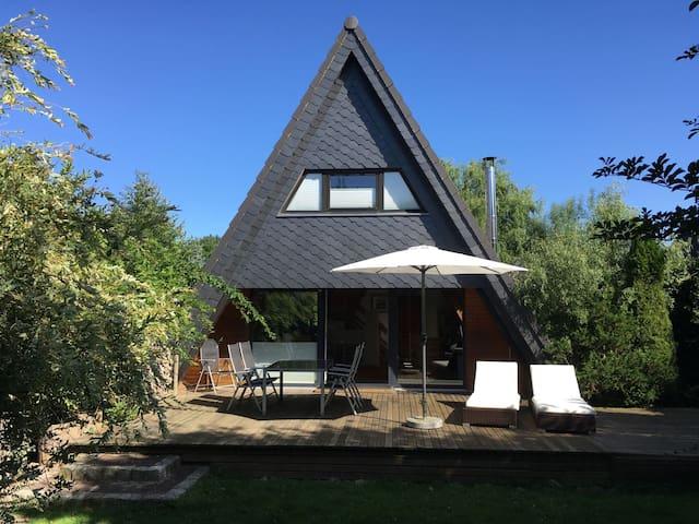 Haus mit Kamin