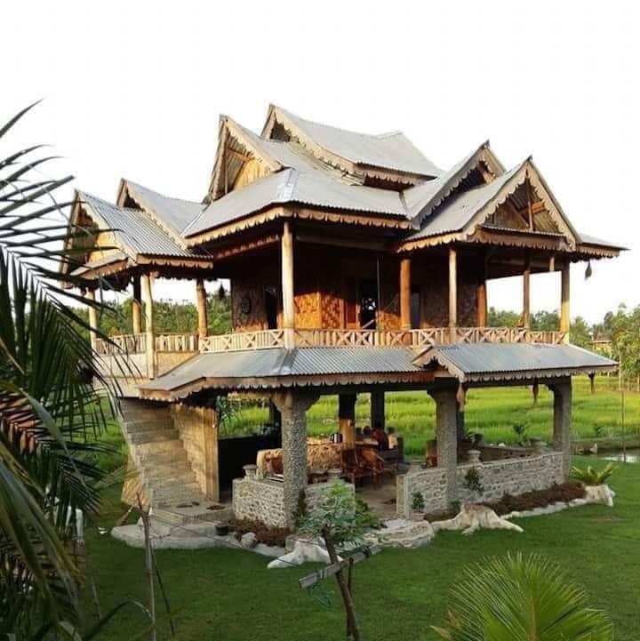 RiceField Villa Bukit Lawang (WIFI FREE)