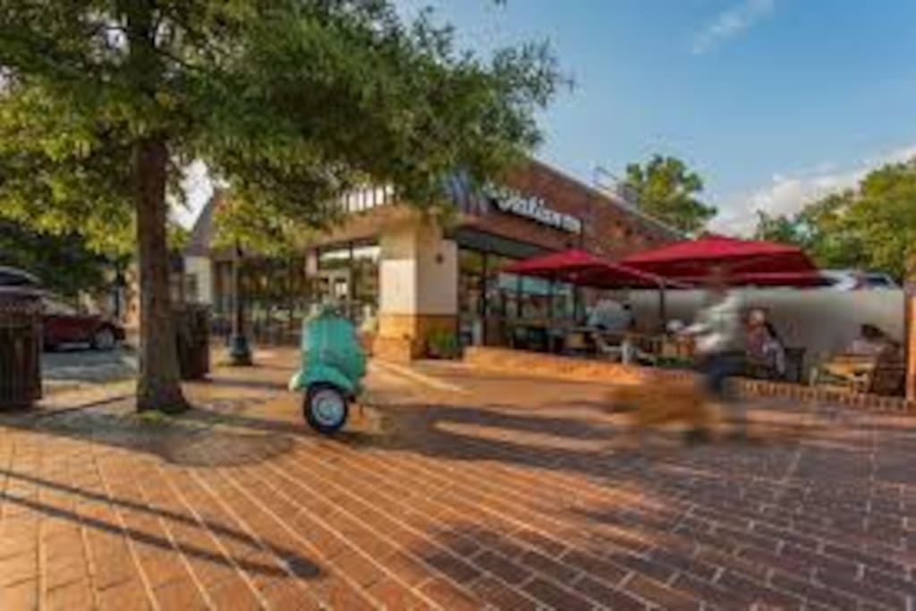 Walk to shops and restaurants at Westover