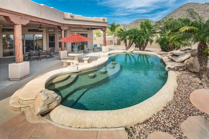 Private, Peaceful, Spacious Estate w/pool 4bd/4ba