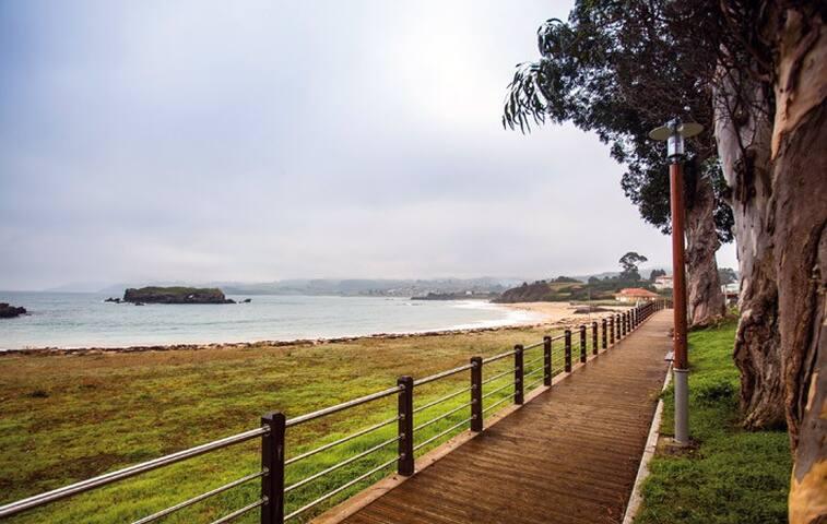 LA ISLA Casa a 50 m de playa   hasta 7 personas
