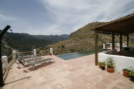 Villa in the mountains with views - Guájar-Faragüit