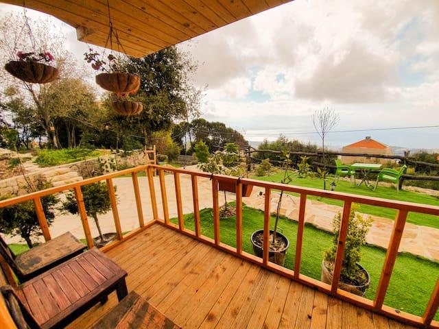 A balcony for a Mediterranean Contemplation