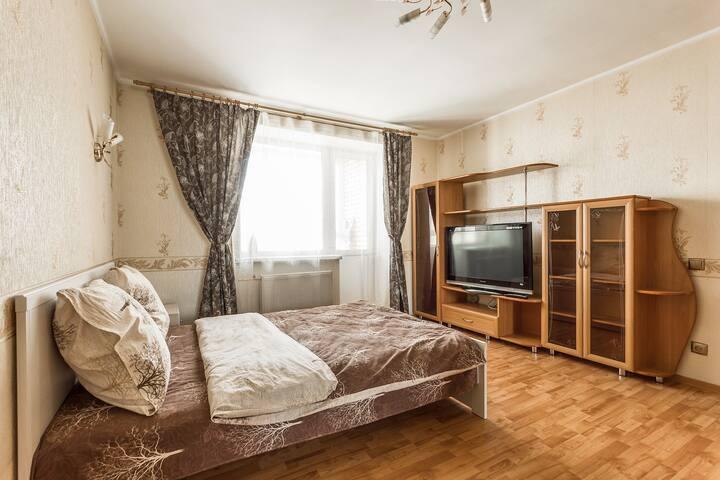 """Апартаменты """"Две Подушки"""" ул. Рихарда Зорге"""